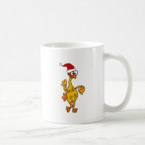 Funny Rubber Chicken Christmas Cartoon Coffee Mug