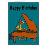 Cute & Funny Rubber Chicken Playing Piano Cartoon
