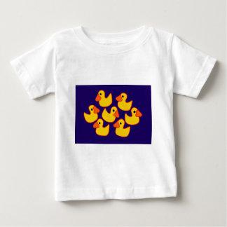 Funny Rubber Ducks Art Baby T-Shirt