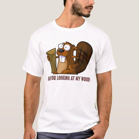 Funny rude Beaver T-Shirt | Zazzle.com