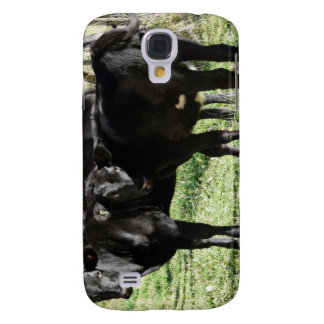 Funny Rude Cows Galaxy S4 Case