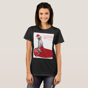 funny rude pinup girl santa ladies christmas shirt