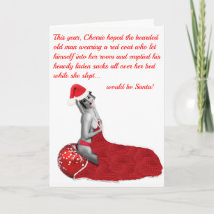 60% Off Rude Christmas Cards – Shop Now to Save | Zazzle