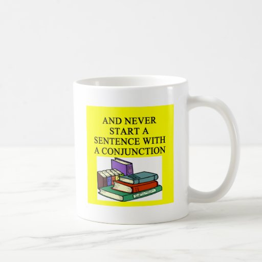 funny rules for writers classic white coffee mug