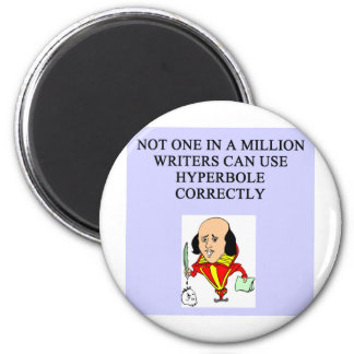 funny rules for writers fridge magnet