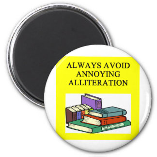 funny rules for writers magnets