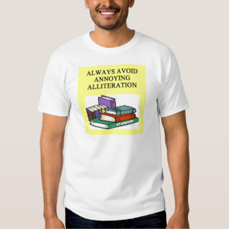 funny rules for writers tee shirt