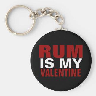 Funny Rum Is My Valentine Anti Valentine's Day Key Chains