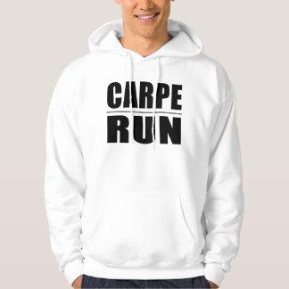Funny Runners Quotes Jokes : Carpe Run Hoodie
