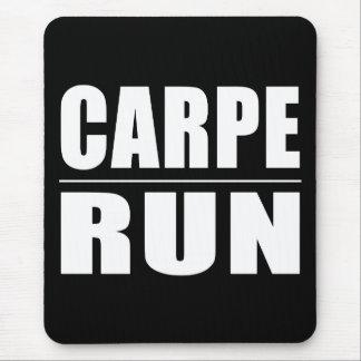 Funny Runners Quotes Jokes : Carpe Run Mousepad