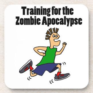 Funny Running Dude Cartoon Coaster
