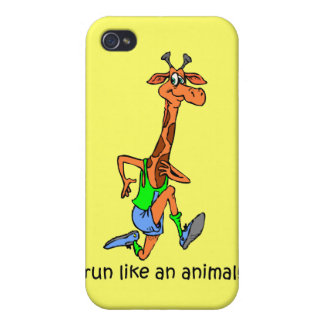 funny running iPhone 4/4S covers
