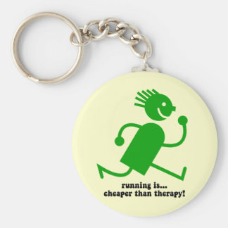 Funny running key chains