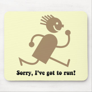 Funny running mousepads
