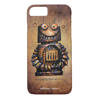 Funny Rusty Robot iPhone 7 Case
