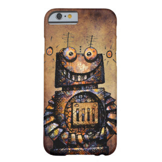 Funny Rusty Steampunk Robot Barely There iPhone 6 Case