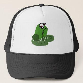 Funny Sad Frog Trucker Hat