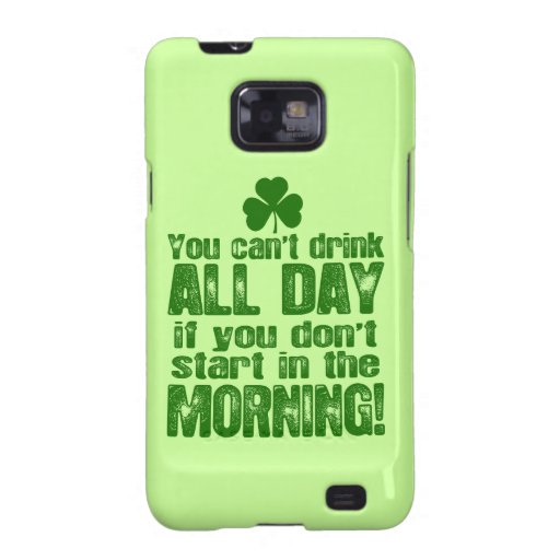 Funny Saint Patrick's Day Beer Samsung Galaxy S2 Covers