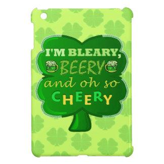 Funny Saint Patrick's Day Beer iPad Mini Cover