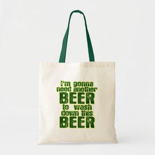Funny Saint Patrick's Day Beer Tote Bag