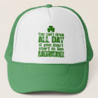 Funny Saint Patrick's Day Beer Trucker Hat