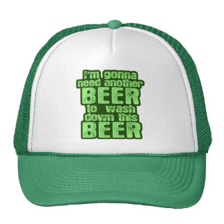 Funny Saint Patrick's Day Trucker Hat