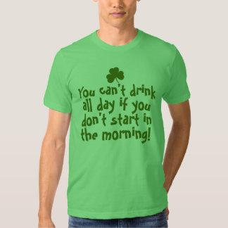 Funny Saint Patricks Day Irish Shirt