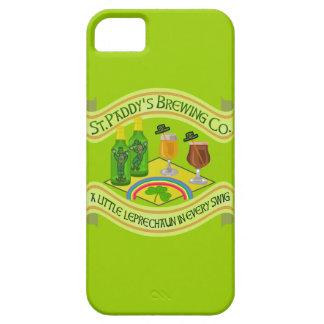 Funny Saint Patrick's Day Leprechaun Brewery iPhone SE/5/5s Case