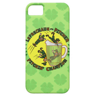 Funny Saint Patrick's Day Leprechaun Pitcher iPhone 5 Cover