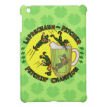 Funny Saint Patrick's Day Leprechaun Pitcher iPad Mini Cover