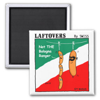 Funny Salami Bologna Magnet For Hot Dog Lovers