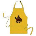 Funny Santa apron design