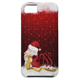Funny Santa boss Christmas iPhone SE/5/5s Case