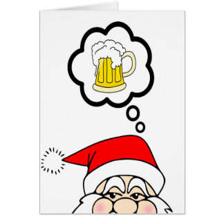 Funny Santa Christmas Card