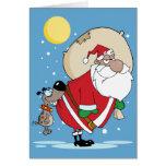 Funny Santa Christmas Cards