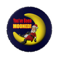 Funny Santa Claus Candy Tin