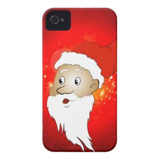 Funny Santa claus iPhone 4 Case-Mate Case
