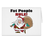 Funny Santa Claus Christmas Card