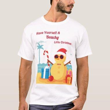 Funny Santa Claus Holiday Christmas Humor T-Shirt