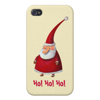 Funny Santa Claus iPhone 4 Covers