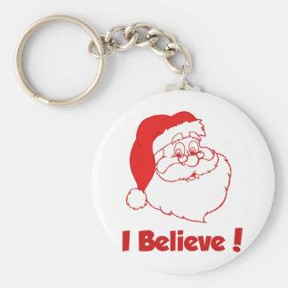 Funny Santa Claus Keychain