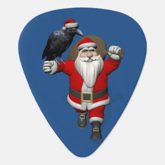 Funny Santa Claus Loves Ravens Pick