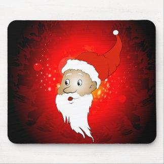 Funny Santa claus Mousepads