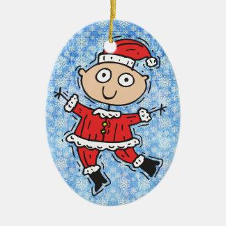 Funny Santa Claus Ornament
