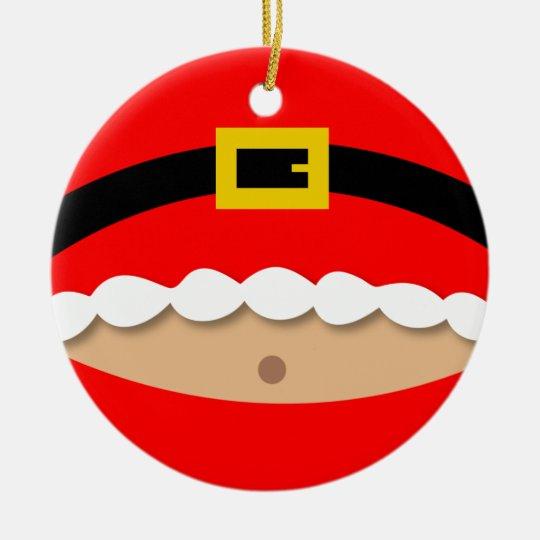 Funny Santa Claus Suit Ornament