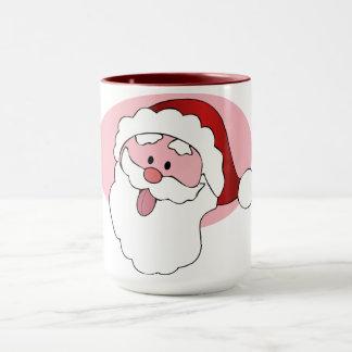 Funny Santa custom mug - choose style, color
