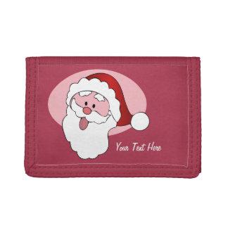 Funny Santa custom wallets