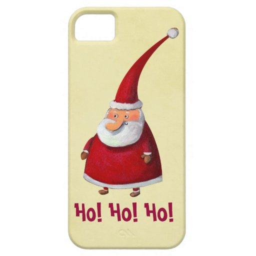 Funny Santa iPhone 5 Case