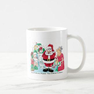 Funny Santa picture Coffee Mug