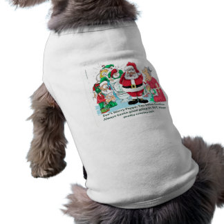 Funny Santa picture Tee